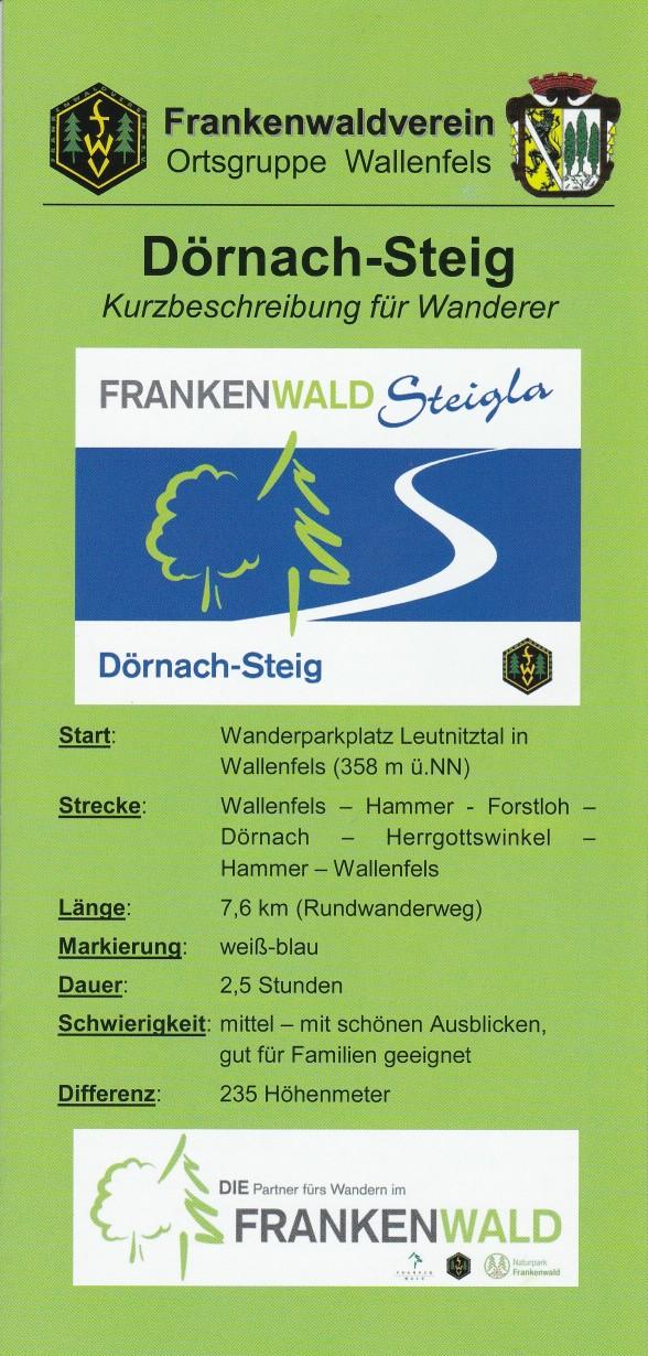 Flyer Dörnach-Steig Deckblatt
