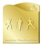 Wanderabzeichen Gold