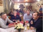 2. Obmann Michael Stöcker, Heinz Machner und Werner Krump im Gespräch mit dem Bürgermeister