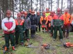 Die Teilnehmer des Kurses 2017 mit FWV-Naturschutzwart Alexander Schlee.