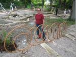 """Metallgestalter Andreas Behrschmidt freut sich über das gelungene """"Klangerlebnis"""""""