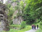 Wanderweg durch die Steinachklamm