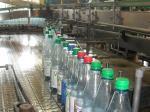 Abfüllung der Mineralwasserflaschen