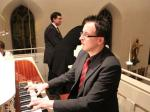 Christian Weiß zog alle Register seiner Orgel