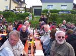 Die Ortsgruppe Wallenfels zeigte Präsenz in Nurn