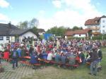 Mehr als 700 Wanderer waren zur Sternwanderung nach Nurn gekommen
