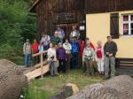 Vor der Hammerschneidmühle in Wallenfels