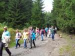 Wandergruppe am Kapellenweg