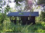 Die Idylle an der Schutzhütte trügt - der Verfall drohte im Jahr 2007