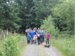 Auf dem Weg zur Silberbergkapelle