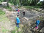 Viel Spaß hatten die Kids nach der Wanderung am NaturErlebnis Leutnitztal