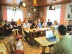 Aufmerksam lauschten die Teilnehmer den Ausführungen von Stefan Beyer