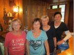 Das Team vom Flößerhaus bewirtete die Neumitglieder bestens mit einer fränkischen Brotzeit