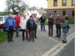 Die Wandergruppe am Start in Neufang bei Wirsberg