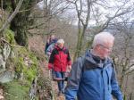 Der Geopfad führt durch den sehenswerten Traubeneichenwald am Silberberg
