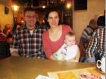 Unsere jüngsten Familienmitglieder: Christian, Heike und Lina Krump