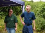 Frankenwaldverein trifft THW