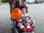 Lina hat auch einen Ballon