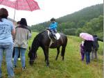Hoch zu Ross mit den Pferdefreunden aus dem Leitschtal