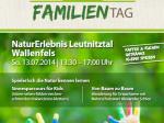 Plakat Familientag 2014