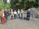 Die Ehrengäste, darunter 1. Bürgermeister Jens Korn, bei ihren Grußworten