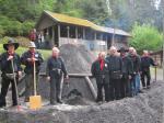 Viele Köhlerfreunde vom Frankenwaldverein kümmern sich um den Erhalt der Tradition