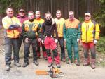 Gruppenfoto nach erfolgreichem Abschluss des Lehrgangs - 04.05.2014