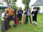 Theaterfreunde Wallenfels grüßen die Wanderer