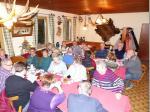 Die Gaststätte Hubertusstüberl in Forstloh war gut besucht und Familie Schauer wieder ein toller Gastgeber.