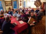 Weihnachtsfeier der Samstagswanderer im Frankenwaldverein