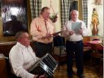 Das Gesangstrio mit Günther Fröba, Norbert Schülein und Otto Neder (v.l.)